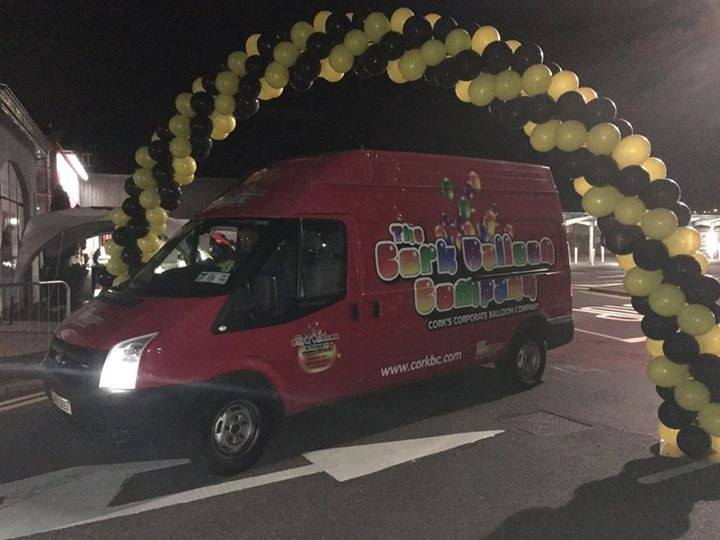 The Cork Balloon Company Van at Event